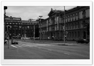 Helsinki Crossroads HD Wide Wallpaper for Widescreen