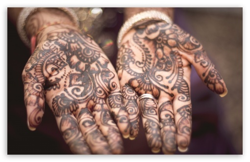 Mehndi Hands With Mobile : Henna hands k hd desktop wallpaper for ultra tv