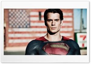 Henry Cavill in Man Of Steel HD Wide Wallpaper for Widescreen