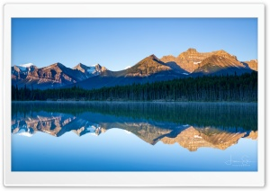 Herbert Lake Banff National Park Canada Ultra HD Wallpaper for 4K UHD Widescreen desktop, tablet & smartphone