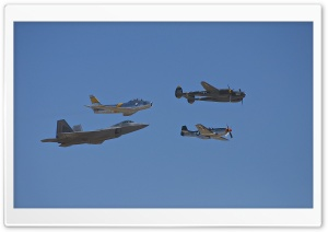 Heritage Flight HD Wide Wallpaper for Widescreen