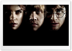Hermione, Ron And Harry Potter HD Wide Wallpaper for Widescreen