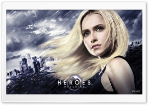 Heroes Villains Claire HD Wide Wallpaper for Widescreen