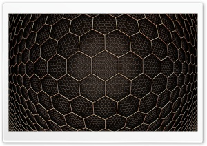 Hexagons inside Hexagons HD Wide Wallpaper for Widescreen
