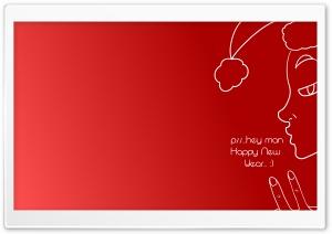 hey Happy New Year Ultra HD Wallpaper for 4K UHD Widescreen desktop, tablet & smartphone
