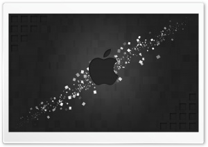 Hi-Tech Apple Logo HD Wide Wallpaper for Widescreen