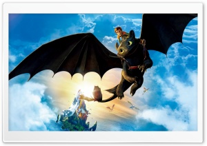 Hiccup and Toothless Ultra HD Wallpaper for 4K UHD Widescreen desktop, tablet & smartphone