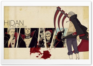 Hidan HD Wide Wallpaper for Widescreen