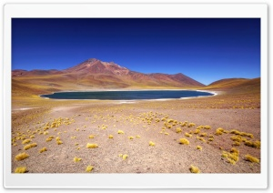 High Altitude Lake Chile HD Wide Wallpaper for Widescreen