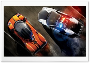 High Speed Chase HD Wide Wallpaper for Widescreen