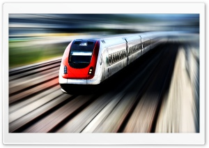 High Speed Train HD Wide Wallpaper for 4K UHD Widescreen desktop & smartphone