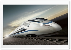 High Speed Train HD Wide Wallpaper for Widescreen