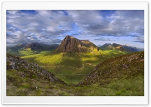 Highlands of Scotland HD Wide Wallpaper for Widescreen