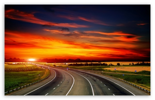 Highway At Sunset ❤ 4K UHD Wallpaper for Wide 16:10 5:3 Widescreen WHXGA WQXGA WUXGA WXGA WGA ; 4K UHD 16:9 Ultra High Definition 2160p 1440p 1080p 900p 720p ; Standard 4:3 5:4 3:2 Fullscreen UXGA XGA SVGA QSXGA SXGA DVGA HVGA HQVGA ( Apple PowerBook G4 iPhone 4 3G 3GS iPod Touch ) ; Tablet 1:1 ; iPad 1/2/Mini ; Mobile 4:3 5:3 3:2 16:9 5:4 - UXGA XGA SVGA WGA DVGA HVGA HQVGA ( Apple PowerBook G4 iPhone 4 3G 3GS iPod Touch ) 2160p 1440p 1080p 900p 720p QSXGA SXGA ; Dual 16:10 5:3 16:9 4:3 5:4 WHXGA WQXGA WUXGA WXGA WGA 2160p 1440p 1080p 900p 720p UXGA XGA SVGA QSXGA SXGA ;