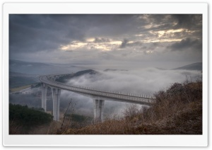 Highway In The Clouds HD Wide Wallpaper for 4K UHD Widescreen desktop & smartphone