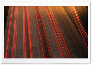 Highway Lights HD Wide Wallpaper for Widescreen
