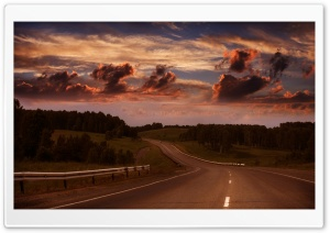 Highway Road HD Wide Wallpaper for Widescreen