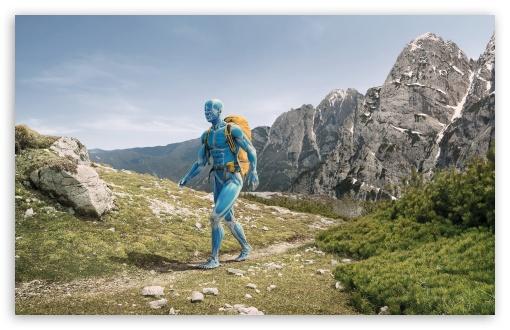 Download Hike CGI HD Wallpaper