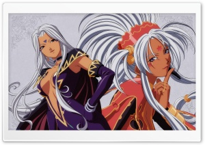 Hild And Urd HD Wide Wallpaper for Widescreen