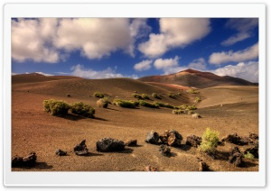 Hills In The Desert HD Wide Wallpaper for Widescreen