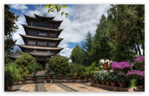 Hilltop Pagoda - Lijiang, China HD wallpaper for Wide 16:10 5:3 Widescreen WHXGA WQXGA WUXGA WXGA WGA ; HD 16:9 High Definition WQHD QWXGA 1080p 900p 720p QHD nHD ; UHD 16:9 WQHD QWXGA 1080p 900p 720p QHD nHD ; Standard 4:3 5:4 3:2 Fullscreen UXGA XGA SVGA QSXGA SXGA DVGA HVGA HQVGA devices ( Apple PowerBook G4 iPhone 4 3G 3GS iPod Touch ) ; Tablet 1:1 ; iPad 1/2/Mini ; Mobile 4:3 5:3 3:2 16:9 5:4 - UXGA XGA SVGA WGA DVGA HVGA HQVGA devices ( Apple PowerBook G4 iPhone 4 3G 3GS iPod Touch ) WQHD QWXGA 1080p 900p 720p QHD nHD QSXGA SXGA ;