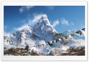 Himalayan Peak HD Wide Wallpaper for Widescreen