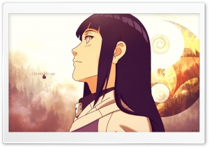 Hinata Hyuga HD Wide Wallpaper for Widescreen