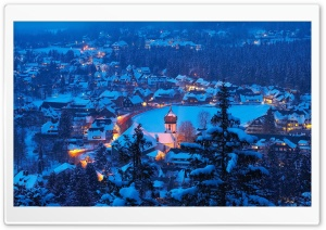 Hinterzarten Village Ultra HD Wallpaper for 4K UHD Widescreen desktop, tablet & smartphone