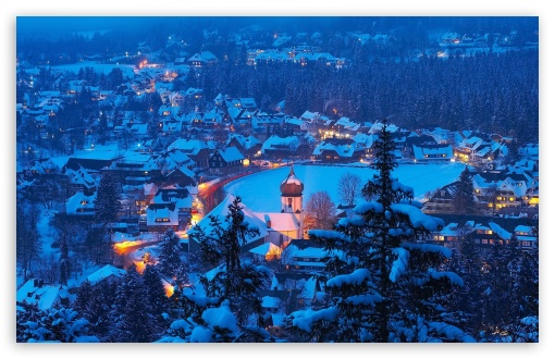 Download Hinterzarten Village UltraHD Wallpaper
