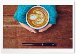 Hipster Coffee HD Wide Wallpaper for Widescreen