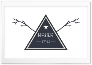 Hipster Style Badge HD Wide Wallpaper for 4K UHD Widescreen desktop & smartphone