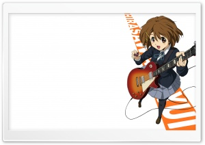 Hirasawa Yui HD Wide Wallpaper for Widescreen
