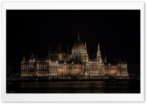 Historical Building of Budapest HD Wide Wallpaper for Widescreen