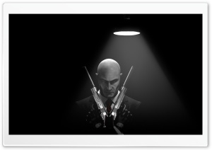 Hitman Absolution - Agent 47 HD Wide Wallpaper for Widescreen