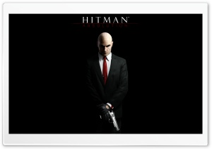 Hitman Absolution - Agent 47 (Video Game) HD Wide Wallpaper for Widescreen