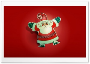 Ho Ho Ho Merry Christmas HD Wide Wallpaper for Widescreen