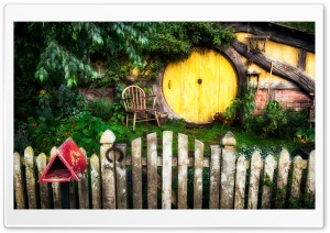 Hobbit House HD Wide Wallpaper for Widescreen