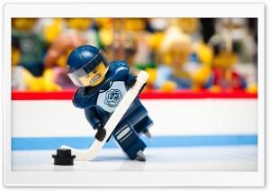Hockey Lego HD Wide Wallpaper for Widescreen