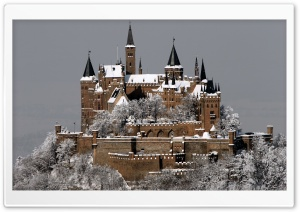 Hohenzollern Castle Germany HD Wide Wallpaper for 4K UHD Widescreen desktop & smartphone