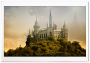 Hohenzollernburg HD Wide Wallpaper for Widescreen