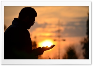 Holding the Sun HD Wide Wallpaper for Widescreen