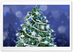 Holiday Tree New Year HD Wide Wallpaper for Widescreen