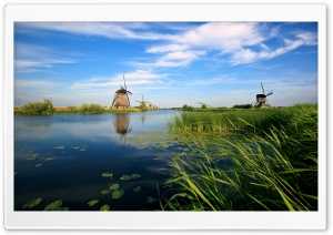 Holland Canal HD Wide Wallpaper for 4K UHD Widescreen desktop & smartphone