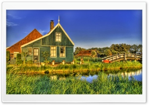 Holland Farmhouse HD Wide Wallpaper for Widescreen