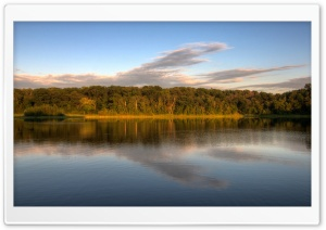 Holland Lake, Lebanon Hills Park, Eagan, Minnesota HD Wide Wallpaper for 4K UHD Widescreen desktop & smartphone