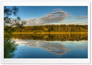 Holland Lake, Lebanon Hills Park, Eagan, Minnesota, US HD Wide Wallpaper for Widescreen