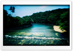 Holy River At Ise Jingu HD Wide Wallpaper for 4K UHD Widescreen desktop & smartphone