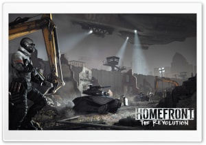 Homefront The Revolution HD Wide Wallpaper for 4K UHD Widescreen desktop & smartphone