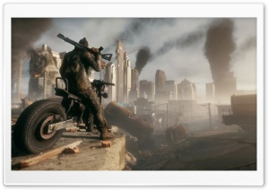 Homefront The Revolution Motorbike HD Wide Wallpaper for Widescreen