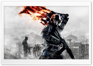 Homefront, US Flag HD Wide Wallpaper for Widescreen